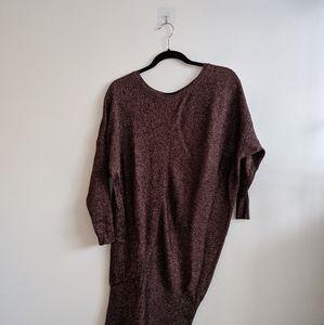 Zara batwing long knit
